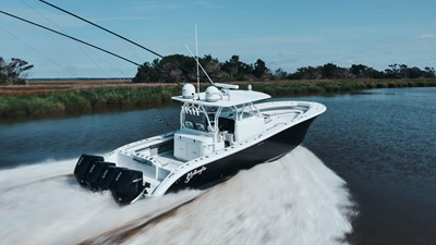 LEGALLY NUTS 3 LEGALLY NUTS 2013 YELLOWFIN 42 Offshore Sport Fisherman Yacht MLS #272967 3