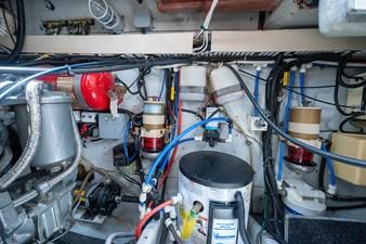Miss Mattie 28 Engine Room