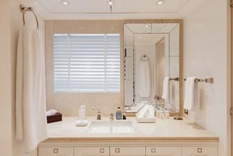 ESTEL 27 Twin guest cabin bathroom