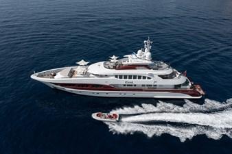 ESTEL 1 At anchor