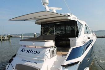 Restless 4 Starboard Stern