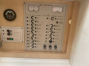 High Tide 14 Electrical Panel