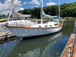 White Wings 3 White Wings 1963 PEARSON Rhodes 41 Racing Sailboat Yacht MLS #273030 3