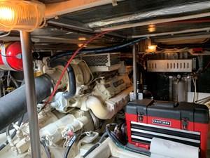 ATLAS 24 Engine room starboard