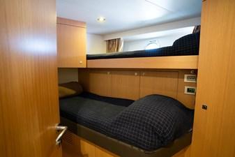 Living Life 3 35 2014 80' Ferretti F800 - Living Life 3 -  Starboard Crew Stateroom