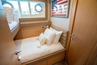 Living Life 3 31 2014 80' Ferretti F800 - Living Life 3 - Starboard Guest Stateroom