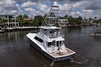 CHIEF 33 Port Stern Profile