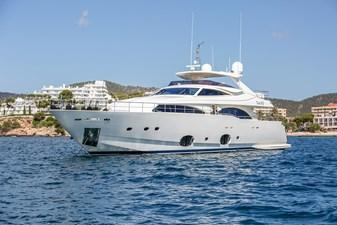 THINK BIG 0 THINK BIG 2008 CUSTOM LINE 97 Motor Yacht Yacht MLS #273125 0
