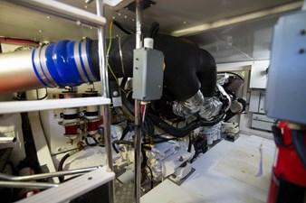 Lady M 69 Engine Room