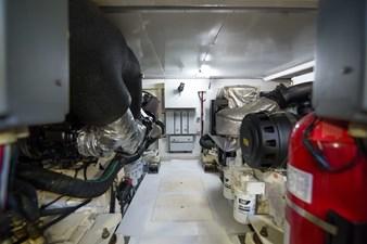 Lady M 70 Engine Room