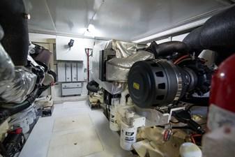 Lady M 71 Engine Room