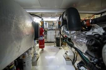 Lady M 72 Engine Room