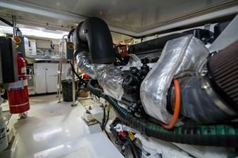 Lady M 73 Engine Room