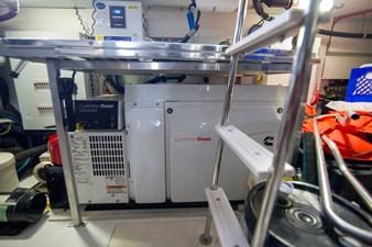 Lady M 74 Engine Room