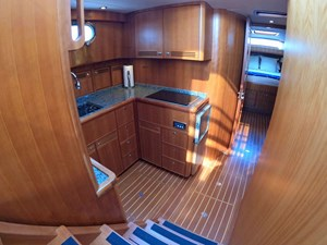 TRAVELER 12 Companionway to Galley