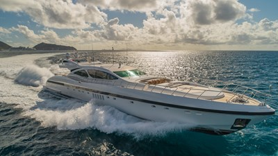 JOMAR 7 JOMAR 2007 MANGUSTA 130 Motor Yacht Yacht MLS #273164 7