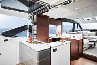 Princess S66 2 s66-interior-galley-walnut-satin