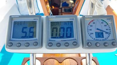 Alchemy 24 1028 Alchemy Wind, Speed and Depth displays