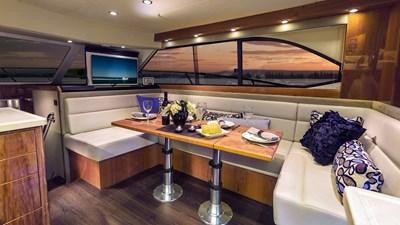43 open flybridge  4 Riviera-43-Open-Flybridge-Saloon-Dining