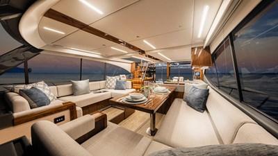 50 sports motor yacht  5 Riviera-50-Sports-Motor-Yacht-Saloon-01-Gloss-Walnut-Timber-Finish-R