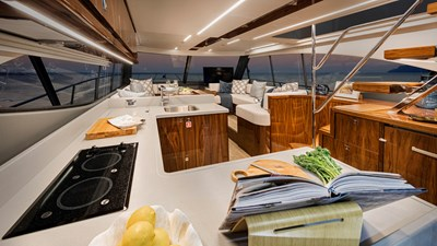 50 sports motor yacht  6 Riviera-50-Sports-Motor-Yacht-Saloon-02-Gloss-Walnut-Timber-Finish-R