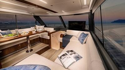 50 sports motor yacht  7 Riviera-50-Sports-Motor-Yacht-Saloon-04-Gloss-Walnut-Timber-Finish-R