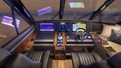 64 sports motor yacht 5 Riviera-64-Sports-Motor-Yacht-Helm-01-1