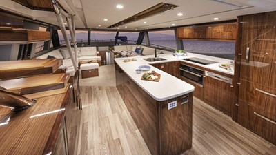 64 sports motor yacht 10 Riviera-64-Sports-Motor-Yacht-Saloon-03-1