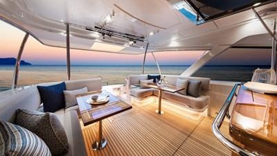 68 sports motor yacht  8 Riviera-68-Sports-Motor-Yacht-Mezzanine-01