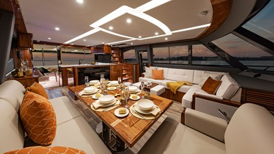 72 sports motor yacht  10 Riviera-72-Sports-Motor-Yacht-Saloon-03
