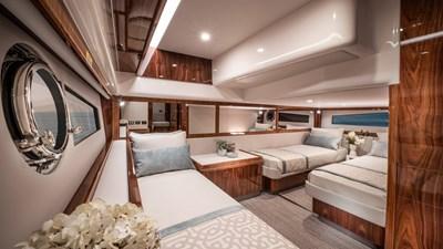4800 sport yacht series ll platinum  6 Riviera-4800-Sport-Yacht-Series-II-Platinum-Edition-Guest-Stateroom-01