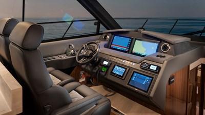 4800 sport yacht series ll platinum  5 Riviera-4800-Sport-Yacht-Series-II-Platinum-Edition-Helm-01