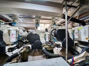Phoencia 56 Engine Room 1