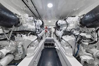 Whirlwind 55 Engine Room
