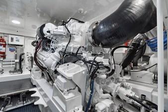Whirlwind 56 Engine Room