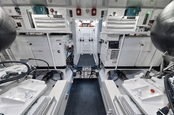 Whirlwind 59 Engine Room