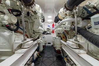 SEA N DOUBLE 36 Engine Room