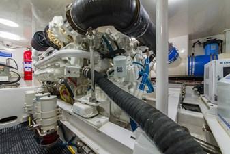 SEA N DOUBLE 38 Engine Room