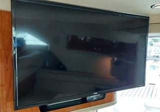 Foxsea Lady 25 1034 Sea Ray 400 Salon TV