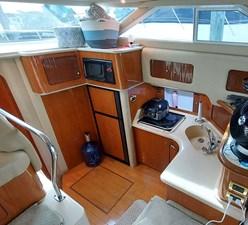 Foxsea Lady 26 1035 Sea Ray 400 Galley