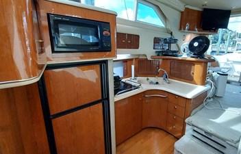 Foxsea Lady 30 1039 Sea Ray 400 Galley