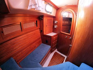 PERFECT PITCH 7 Fwd. Cabin Settee