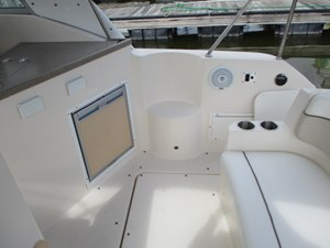 Missy Spent Money 20 20. 30' Rinker Aft Bench Seat To Starboard