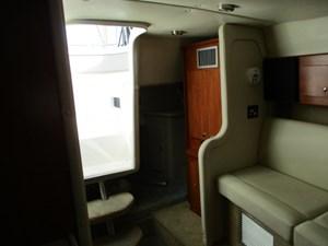 Missy Spent Money 26 26. 30' Rinker Cabin View Aft