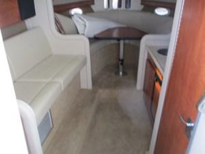 Missy Spent Money 27 27. 30' Rinker Cabin View Forward
