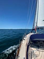 QUERENCIA 46 Portside, Sailing