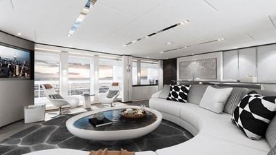 Heesen 50m Aluminium YN 20350 Project Jade 11 Sky lounge
