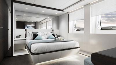 Heesen 50m Aluminium YN 20350 Project Jade 14 Guest suite