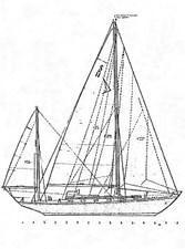 MIDNIGHT 27 Sail Plan