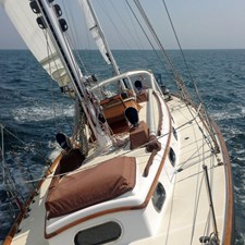 MIDNIGHT 16  Sailing, Looking Aft